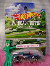 2015 HOT WHEELS Road Trippin #10 MX48 TURBO∞Teal; Trap5∞Ski Oberalp pass