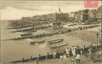 Worthing Looking West from Pier Posted Pagnou Seine-et-Marne Vintage PC RJ.1126