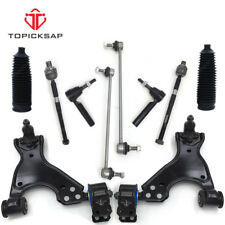 12 Front Suspension Kit Control Arms Ball Joints Tie Rod Ends For SATURN OUTLOOK