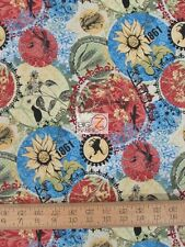 CENTRAL KANSAS QUILT SHOP HOP BY IN THE BEGINNING FABRICS COTTON FABRIC FH-1376