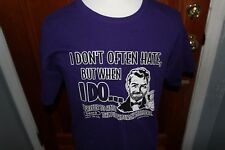 """""""I Don't Often Hate, But When I Do...(Anti-Steelers) Shirt Purple XL? T-Shirt"""