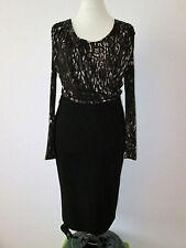 Elena Miro Italy Designer Luxus Kleid 2 in 1 Optik Top & Rock Gr 40 42 NEU