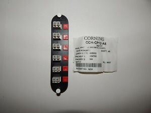 Corning CCH-CP12-A8 LC Coupler Panel
