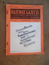 The Railway Gazette Magazine 3rd Sept 1943
