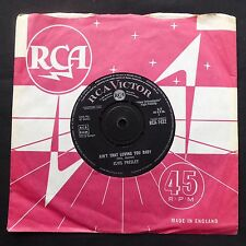 "ELVIS PRESLEY Ain't That Loving You RCA VICTOR UK Original 7"" 45 COMPANY SLEEVE"