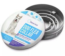 Healex Dog Flea Collar for Flea and Tick Treatment and Prevention | One Size .
