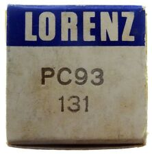 GEPRÜFT: PC93 / 3AF4A Radioröhre, Hersteller Lorenz SEL. ID16827