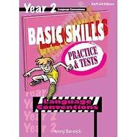 Basic Skills: Language Conventions Year 2 NAPLAN EDITION/ it will help teachers!