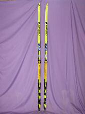 Fischer Racing SRC Classic cross country skis w/ Salomon Profil SNS xc bindings~