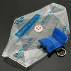 CPR Mask Keychain Bag Safty Emergency Face Shield First Aid Rescue Bag Kits 2017