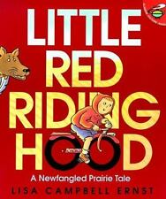 Little Red Riding Hood by Lisa Campbell Ernst (1998, Picture Book, Reprint)
