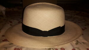 Lock & Co. Hatters Rollable Superfino Montecristi Panama Hat Size 56cm 7 US