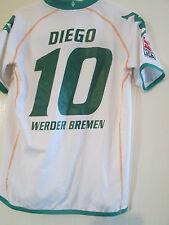 Werder Bremen 2008-2009 Visitante Camiseta De Fútbol Tamaño Grande Mans/40526 Diego