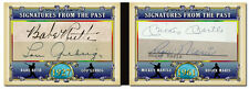 Babe Ruth Gehrig Mantle Maris QUAD AUTO REPLICA Signatures from the Past Yankees