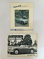 Vintage Austin Healey 100-4/100-6/3000 Moss Motor Parts Catalogue
