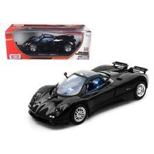 Pagani Zonda C12 Black 1/18 Diecast Car Model by Motormax