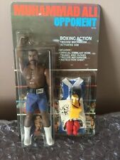 MUHAMMAD ALI OPPONENT KEN NORTON 1976 MEGO ON UNPUNCHED CARD IN PACKAGE CARDED