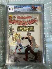 The Amazing Spider-Man 26 (1965) 1st Appearance of Crime Master CGC 4.5 Custom L