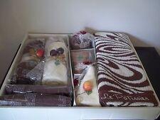 NEW Le Patissier ASSORTMENT MARBLE 7 PIECE Gift Set TOWEL CAKES PASTRIES  JAPAN