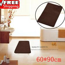 60*90cmCoral Velvet Mat Memory Cotton Mat Bathroom Absorbent Non-slip Carpet Rug
