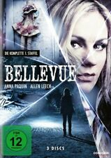 BELLEVUE - SEASON 1 - Region2/UK - DVD - Anna Paquin - 3 Discs