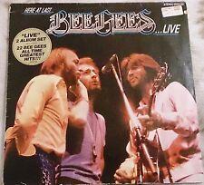 Schallplatte / Bee Gees - Here At Last ... Bee Gees ... Live / super / Vinyl LP
