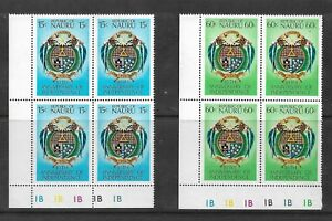 1978 Independence Anniversary  set of 2 Blocks of 4 Complete MUH/MNH as Issued