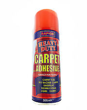 Carpet Contact Adhesive Heavy Duty Spray Glue Craft Mount  200ml