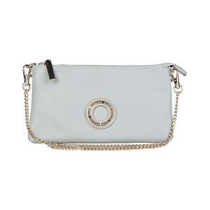 Women Clutch Handbag Authentic Verscace Jean New shoulder Bag Metallic chains **