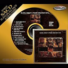 Blood Sweat & Tears - Greatest Hits [New SACD] Slipsleeve Packaging