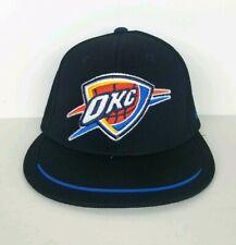 9ee41f9d11a Adidas OKC Oklahoma City Thunder Basketball NBA Hat Cap Adult Size Small  Black