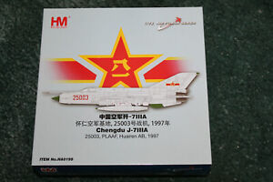 HOBBYMASTER 1:72 CHENGDU J-7111A 25003 PLAAF HUAIRAN AB 1997 HA0199