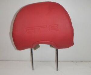 Genuine Ford,Fpv complete GTE Red Leather Headrest.