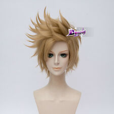 30CM Flaxen Short Hair for FF15 Final Fantasy 15 Prompto Argentum Cosplay Wig