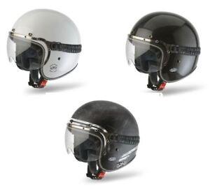 Bikeit Airoh Carbon Shell Garage Comfort Helmet For Motorcycle Motorbike