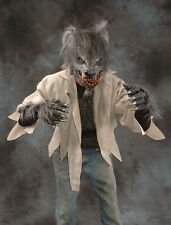 Werewolf Wolf Shirt Zagone Studios Gray Fur Adult Halloween Costume Accessory