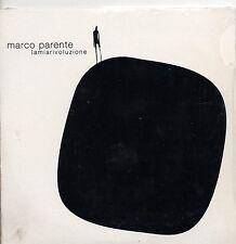 MARCO PARENTE CD SINGLE  PROMO La mia rivoluzione  3 TRACCE  2002
