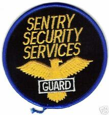 SENTRY SECURITY SERVICES GUARD POLICE PATCH