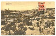 PALESTINA  1925  PPC  BETHLEHEM  TO AUSTRIA   VF