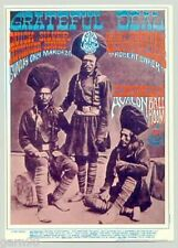 Grateful Dead Quicksilver Rick Griffin  Family Dog Fillmore Era Handbill 1967