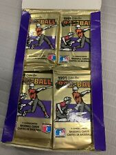 1991 O-Pee-Chee Premier 2 Unopened Packs Of Baseball Cards NEW