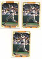 "1984 Donruss Grand Champion  CARLTON FISK   Lot 3 Cards  3 1/2"" X 5""  White Sox"