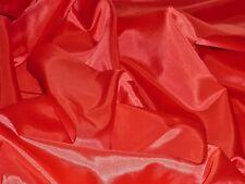 LIGHTWEIGHT SATIN LINING-RED-DRESS LINING FABRIC-FREE P+P