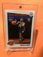 2019/20 Panini NBA Hoops Tribute ZION WILLIAMSON ROOKIE Card HOT RC #296 - Mint