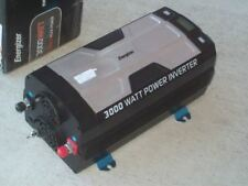 Energizer EN3000 inverter 12V 120 VAC 3000W Watt 6kW surge 6mo warranty