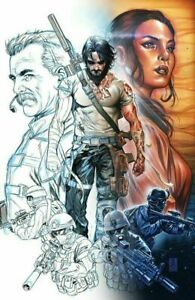 (2021) Keanu Reeves BRZRKR #1 THANK YOU Variant Cover! ONE PER STORE!