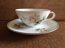 KYOTO fine China, Shirley pattern (Roses) 1456, Japan  tea / coffee cup & saucer