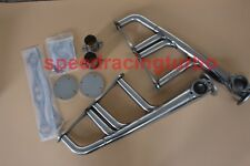EXHAUST HEADERS FOR SBC 265-400 V-8 CHEVYHOT ROD STREET RAT STAINLESS LAKE STYLE