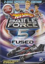 Hot Wheels Battle Force 5 Fused 2-disc Special Edition (DVD)