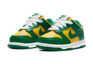 Nike Dunk Low SP (TD) 'Brazil' Shoes CW7375-700